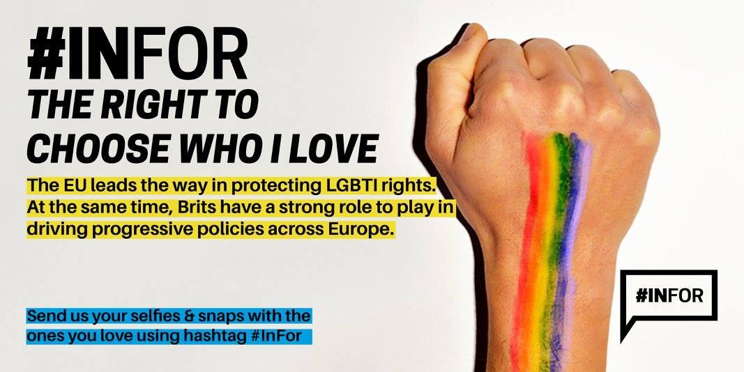 Die Social-Media-Kampagne #Infor soll die Vorteile einer EU-Mitgliedschaft zeigen. Foto: We are Europe